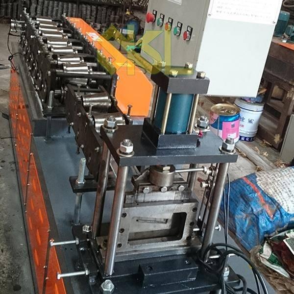 L shape profile roll forming machine