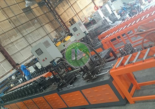 U profile roll forming equipment