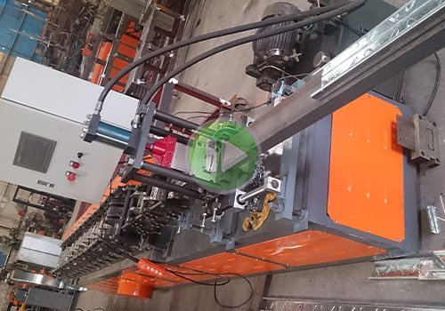 80-220 C purlin profile roll forming machine