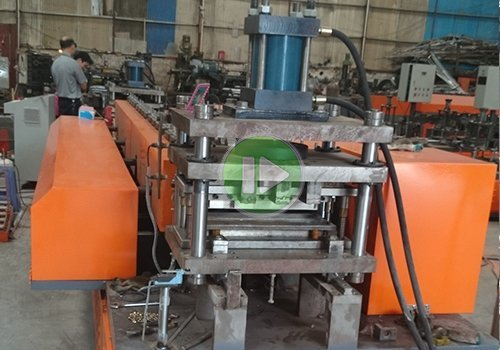 light steel goods shelf forming machine production line